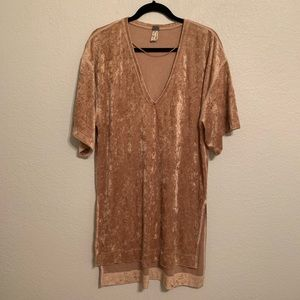 Free people tan tunic